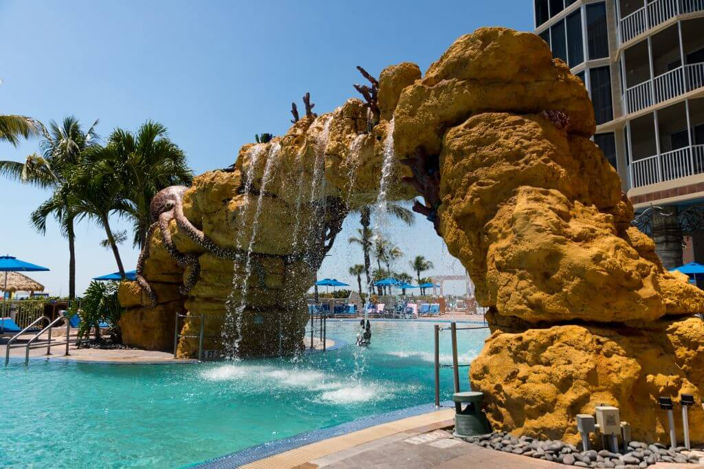 Pink Shell Beach Resort and Marina Ft Myer Florida Beach Family Vacation