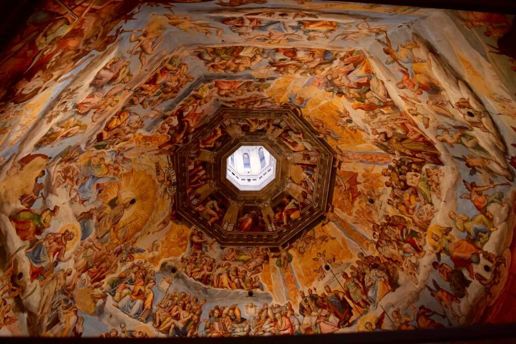 Ceiling of Il Duomo in Florence