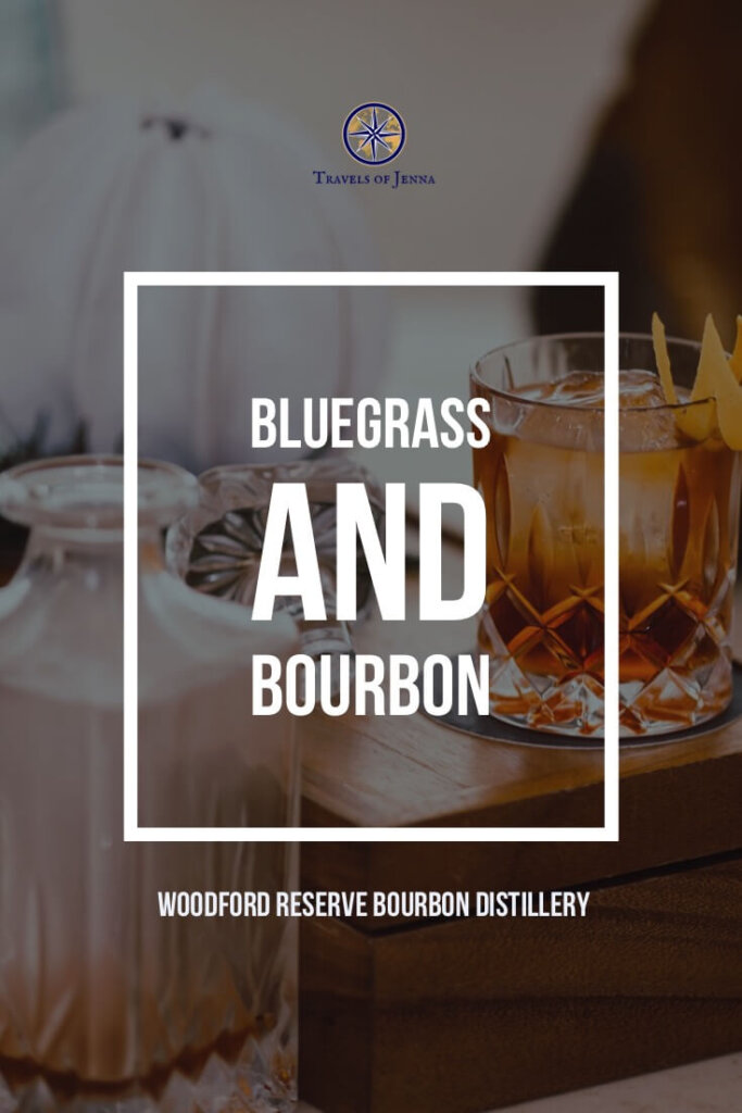old fashioned on a table. Experience bluegrass and bourbon at Woodford Reserve in Kentucky