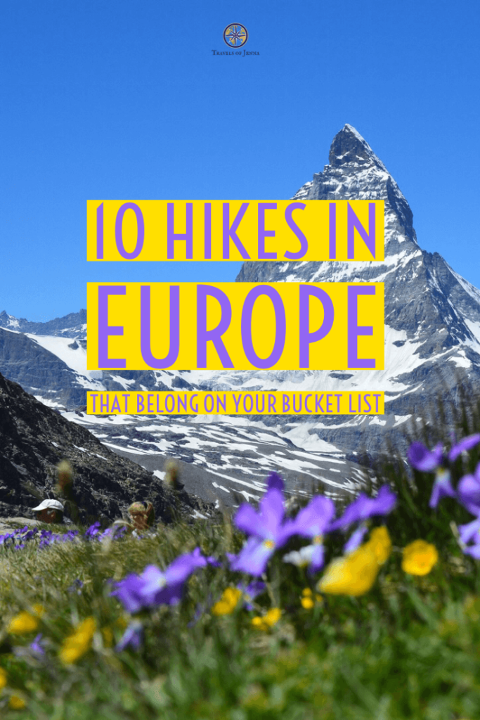 10 hikes in Europe that belong on your bucket list