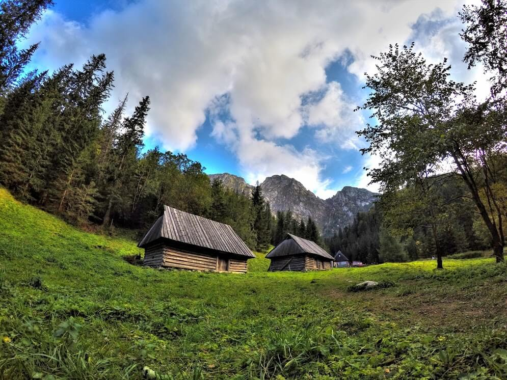 Cabin in the Strazyska Valley - one of the best hikes in Europe